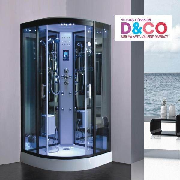 Cabine de douche hammam full option profitez d 39 une douche l 39 itali - Cabine de douche hammam ...