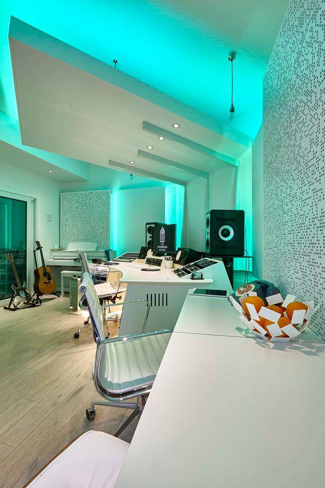 Music Studio Room Design: RPG BAD Expo Panels & Spigo