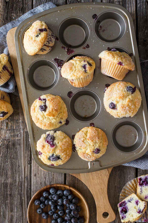 Best Ever Buttermilk Blueberry Muffins Recipe Buttermilk Recipes Blue Berry Muffins Buttermilk Blueberry Muffins