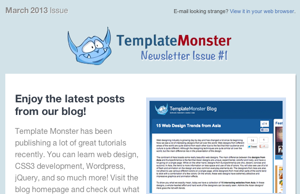 Designing coding your own html newsletters newsletter templates designing coding your own html newsletters spiritdancerdesigns Gallery