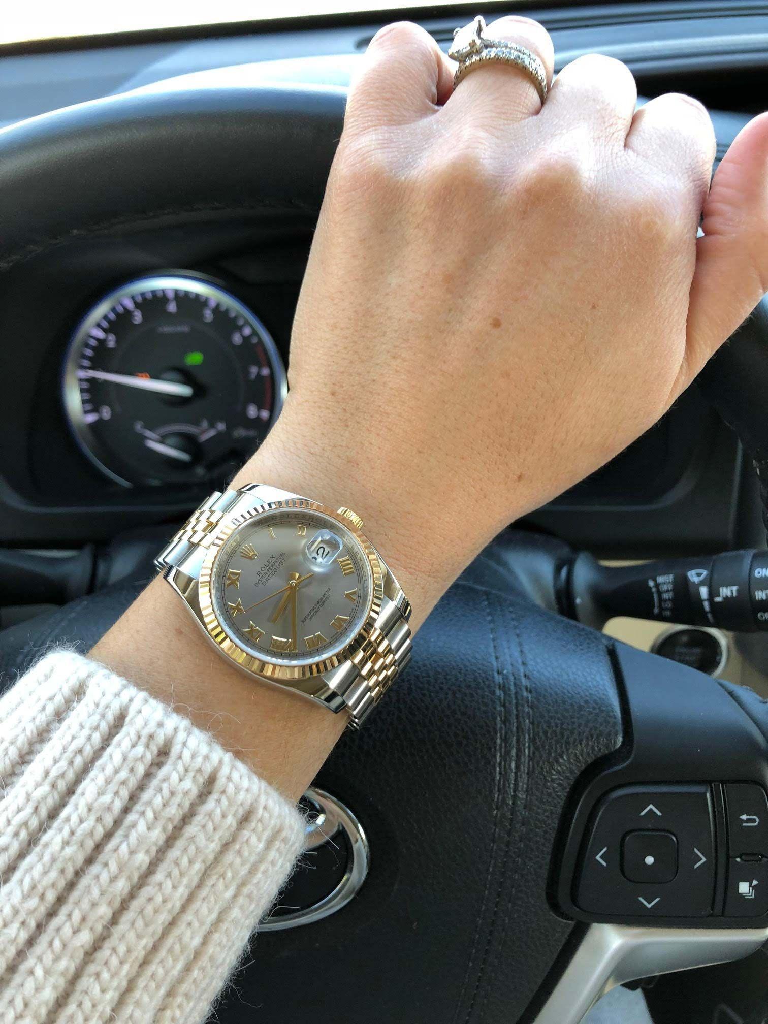 Customer Review Rolex Datejust 36 Ladies Wristshot Rolex Watches Women Womens Watches Luxury Womens Watches