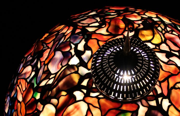 Opalescenze di vetro - Lampade Tiffany e vetrate Tiffany