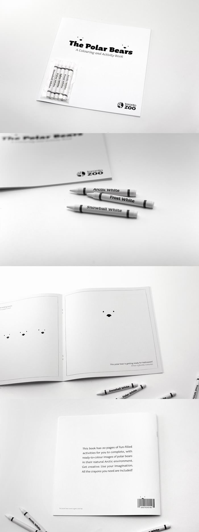 The Polar Bears - A Colouring and Activity Book
