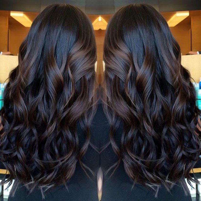 25 Best Warm Black Hair Color Examples You Can Find Hair Color For Black Hair Hair Styles Brown Hair Balayage