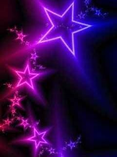 Download Free Neon Nigh Stars Mobile Wallpaper Contributed By Tonytomas Is Uploaded In Abstract Wallpapers Category