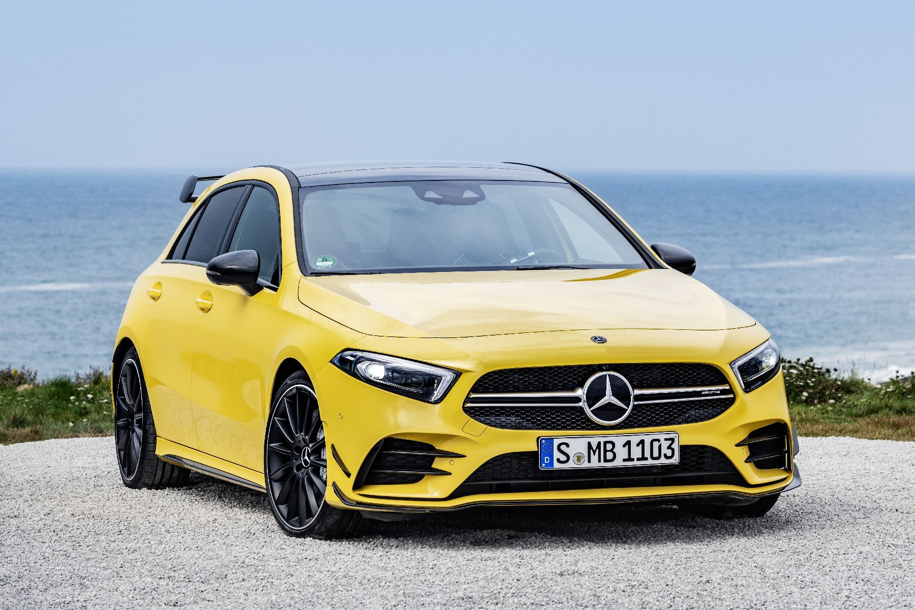 Mercedes Unveils The Entry Level Amg A35 4matic With Images