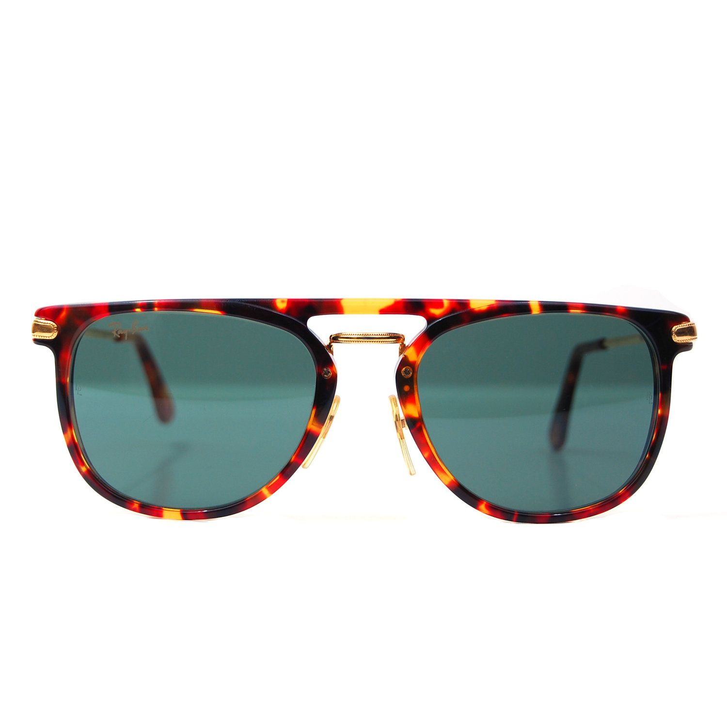69466f8a9dc0 Vintage Ray Ban Bausch and Lomb W1542 Tortoise Shell Traditionals Premier  Combo Sunglasses.  249.00