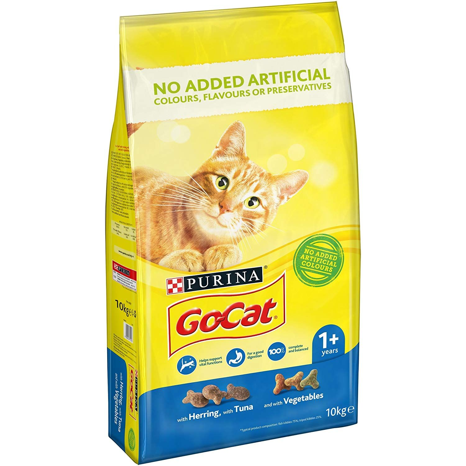 Go Cat Adult Cat Food Tuna Herring And Veg 10kg With Go Cat Adult Cat Food Wonderful Of Your Presence To Drop By To See Dry Cat Food Cat Food Pet