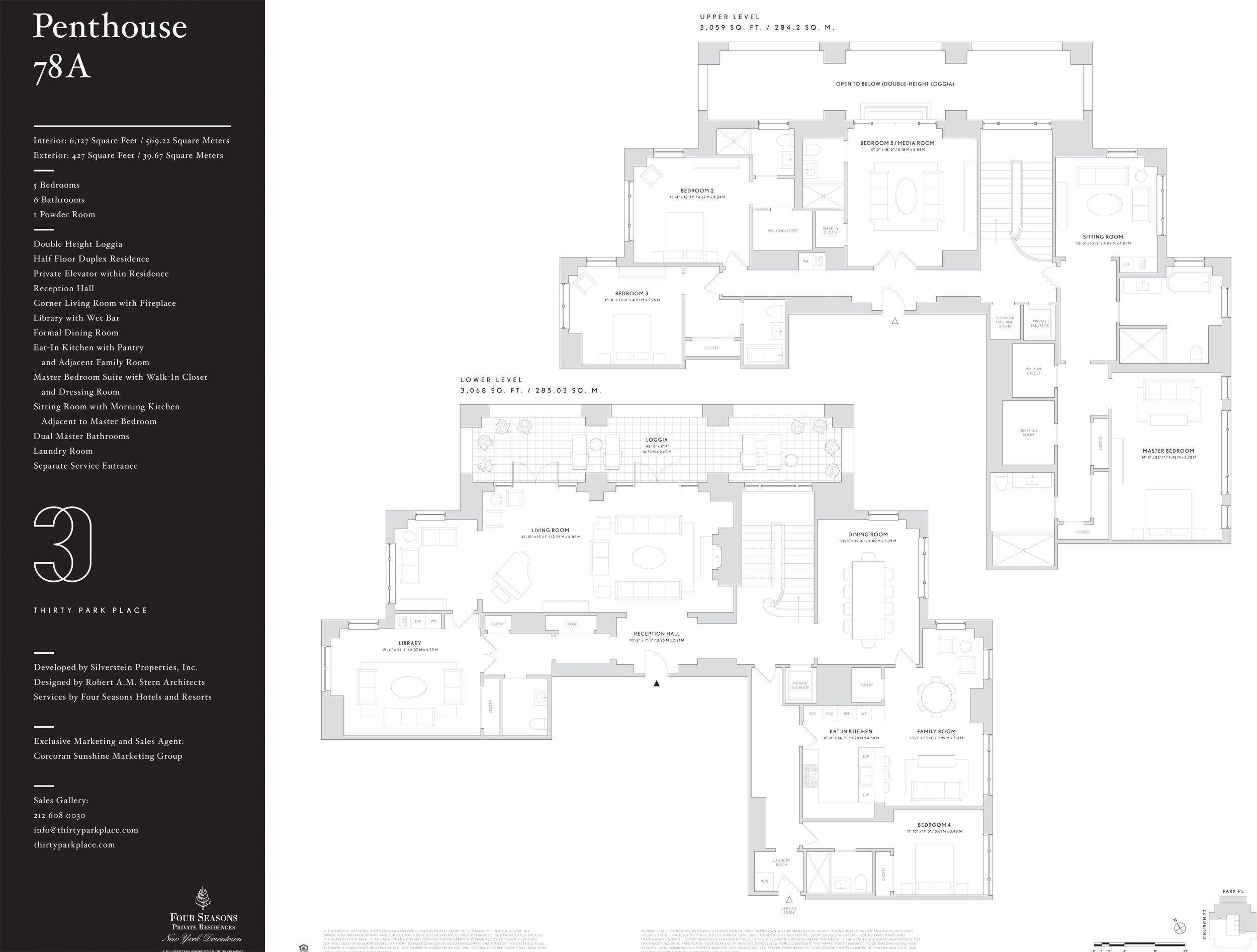30 Park Place Reveals Sprawling New Penthouse for $32.5M ...