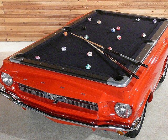 Ford Mustang Pool Table Pooltafel Mustang Kratten