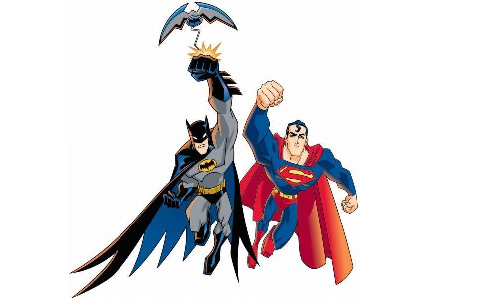 Batman Superman Hd Wallpaper Batman Cartoon Superman Art Batman V Superman Dawn Of Justice