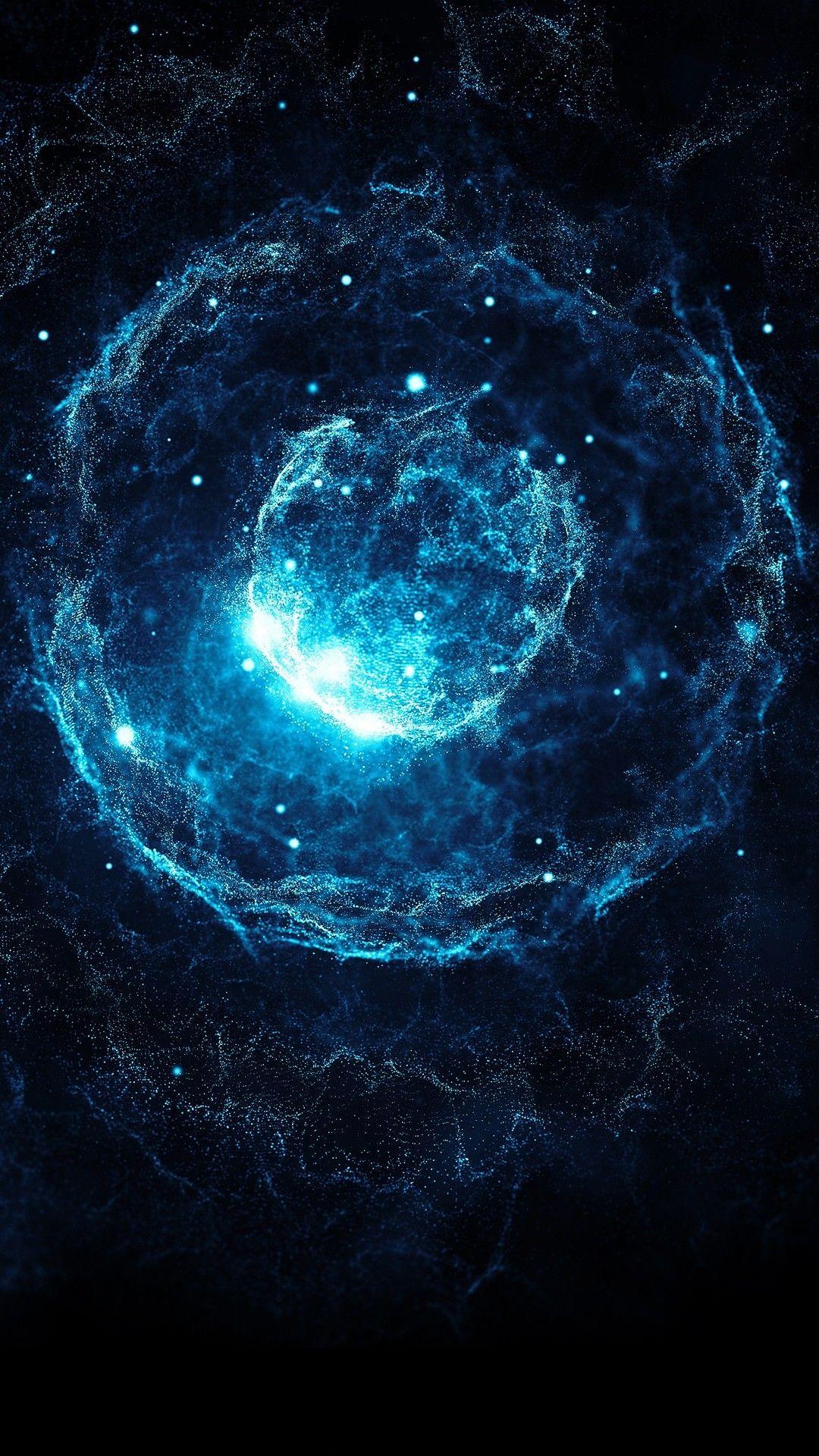 Galaxy Dark Blue Photo Arte Cosmica Plano De Fundo Iphone Planos De Fundo Ideas for galaxy dark blue wallpaper hd