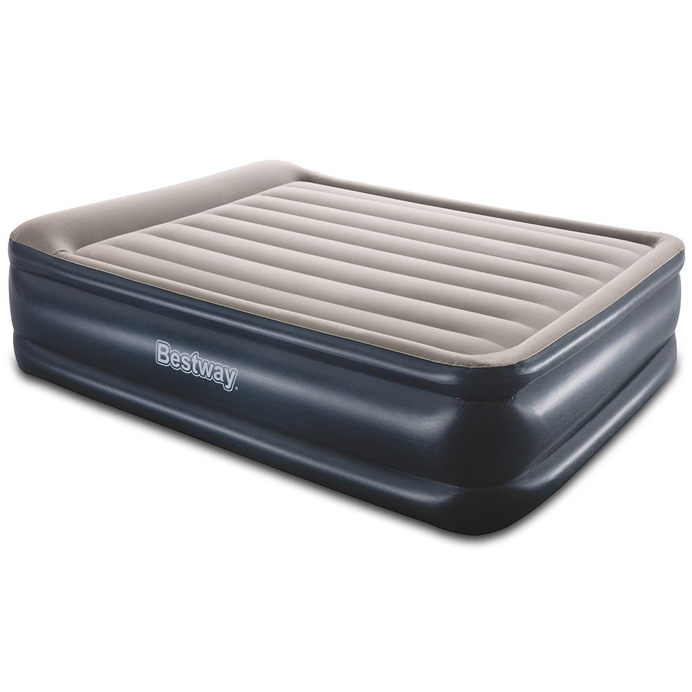 Featuring A Comfortable Flocked Sleeping Surface The Queen Size Air Bed Provides A Smooth And Comfy Sleep Each And Every Inflatable Mattress Air Bed Mattress