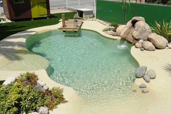 Les piscines plages immerg es piscine azur ajaccio - Plage de piscine en beton ...
