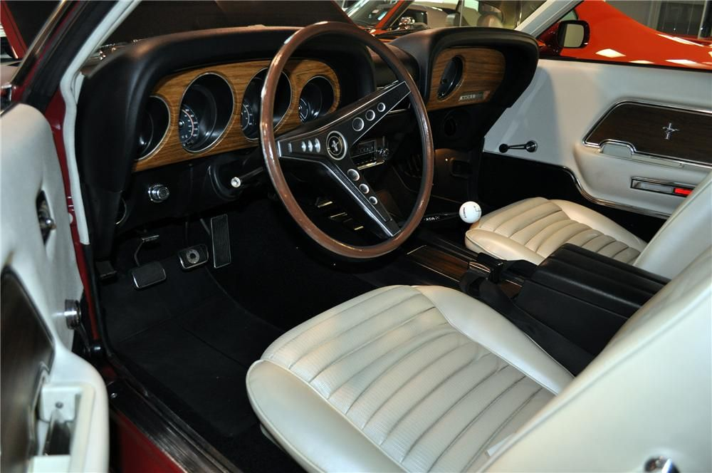 1969 ford mustang mach 1 fastback interior 139434