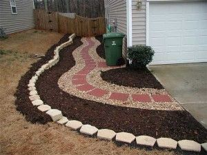 Sensational Inexpensive Curb Appeal Projects Landscaping Sidewalk Ideas Largest Home Design Picture Inspirations Pitcheantrous