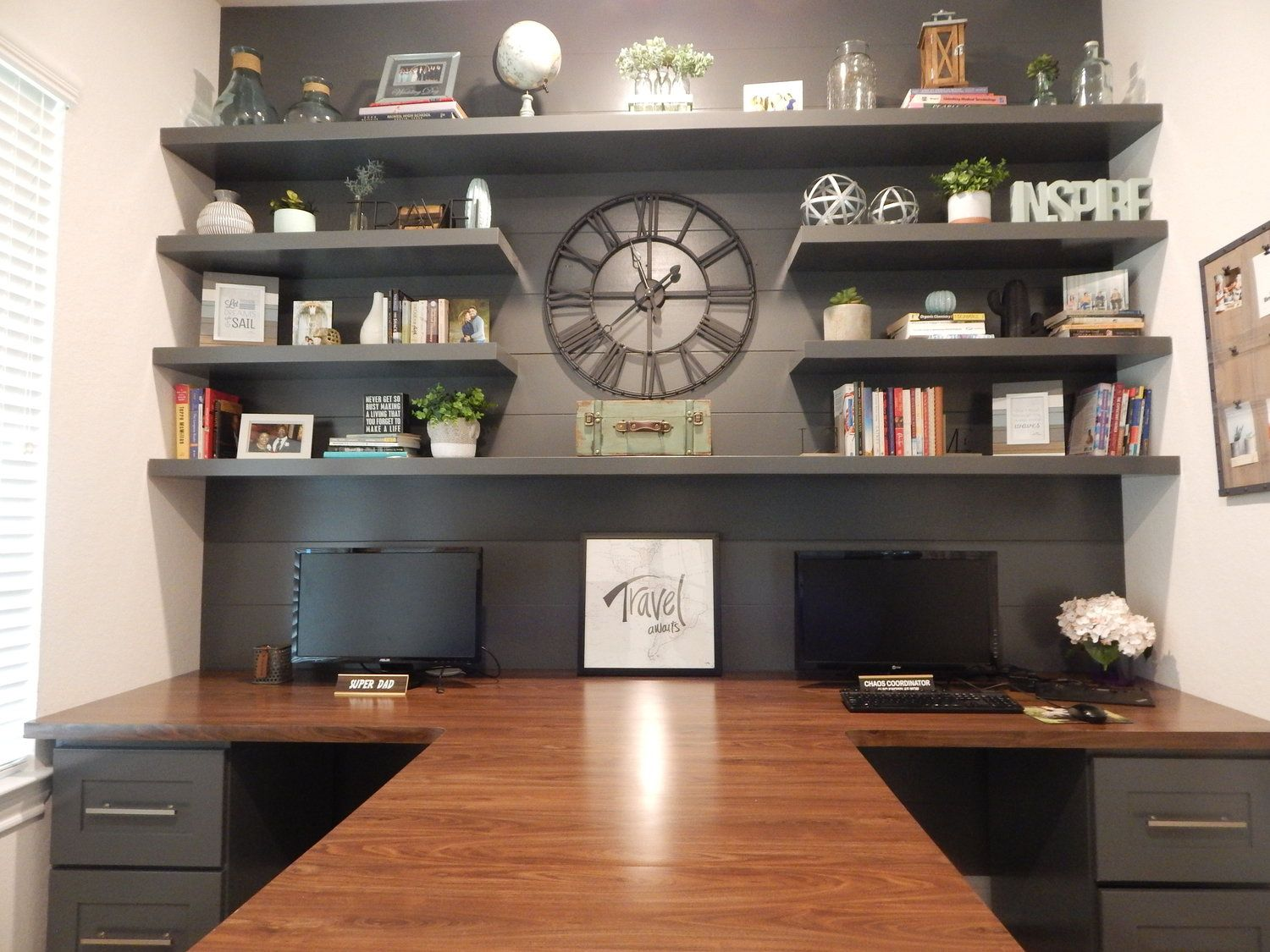 The Office T Shaped Desk Office Furniture Layout Home Office Design Cheap Office Furniture
