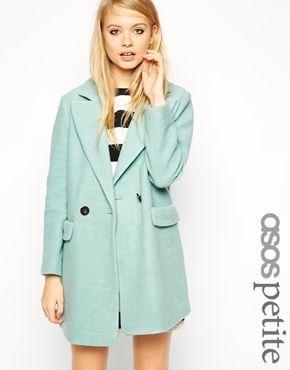mintgrüner Mantel von Asos | Kleidung entwerfen, Mäntel ...