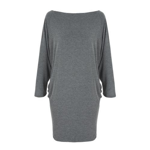 The Clarence Dress | Charcoal