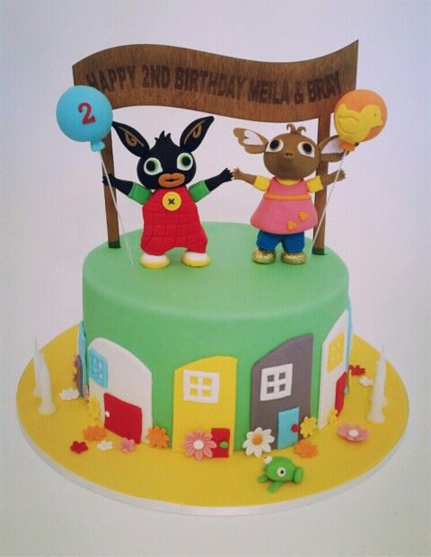 Bing and Sula Cake Childrens Cakes Pinterest Cake Birthday