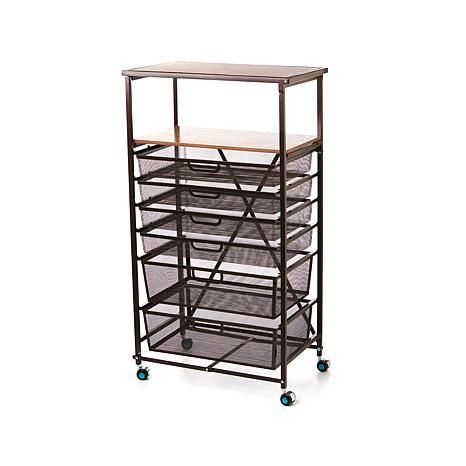 Origami Foldable 6 Drawer Hobby And Home Cart My Wish List