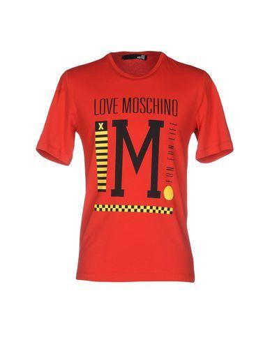 LOVE MOSCHINO Men's T-shirt Red M INT