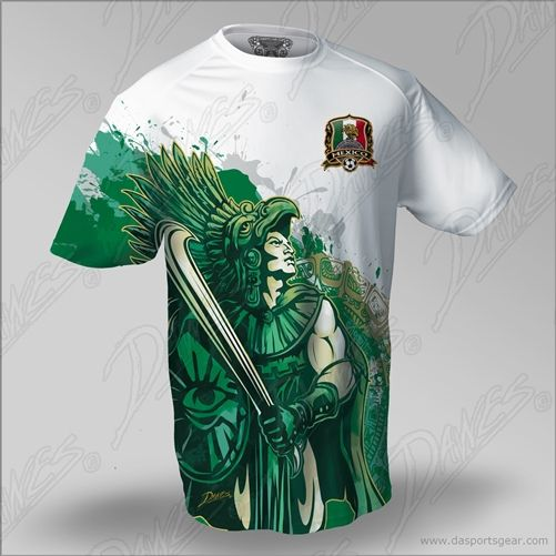 Mexico National Soccer Jersey - Alex