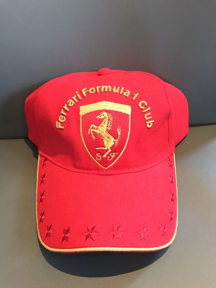 90be80ac8bf Ferrari Formula 1 Club 2007 Hat - Official Ferrari Product New W  Tags   fashion  clothing  shoes  accessories  mensaccessories  hats (ebay link)