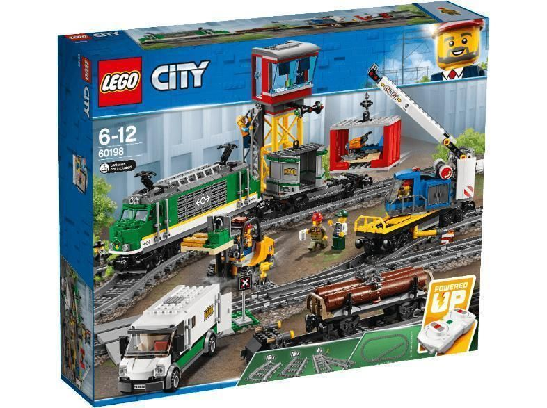 Lego Gãterzug 60198 Bausatz Mehrfarbig Gabelstapler Bahnhof