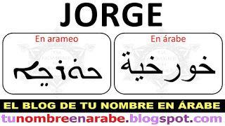 Tu Nombre En Arameo Para Tatuajes Tu Nombre En árabe Tatoos