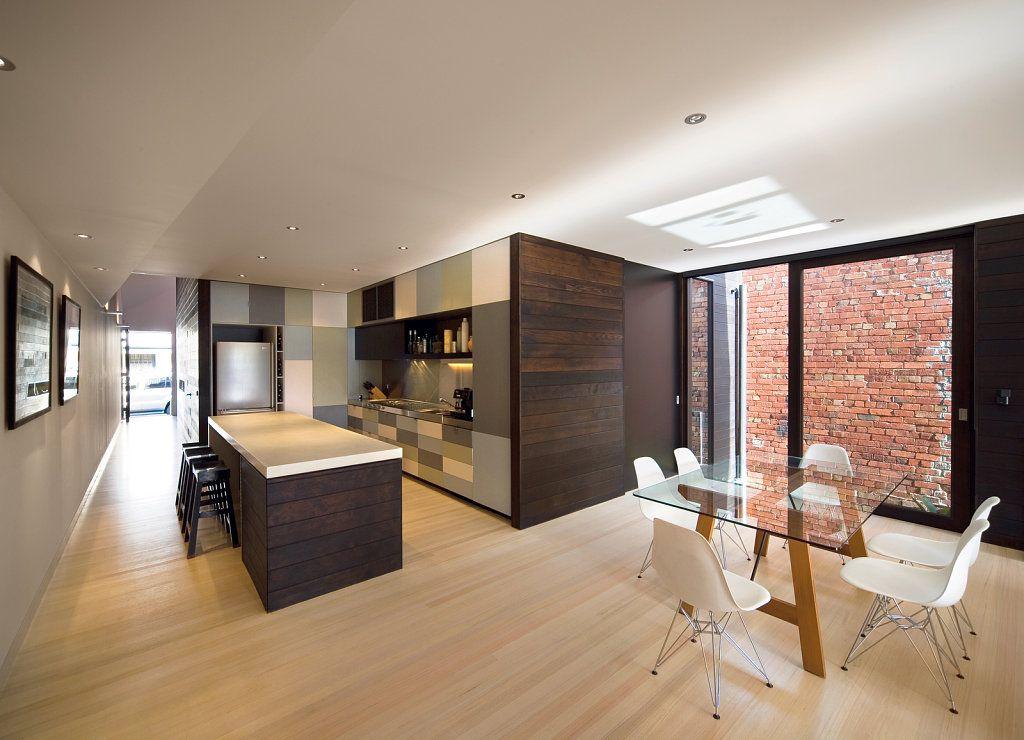 Plafones en pasillos modernos de viviendas buscar con - Iluminacion techos bajos ...
