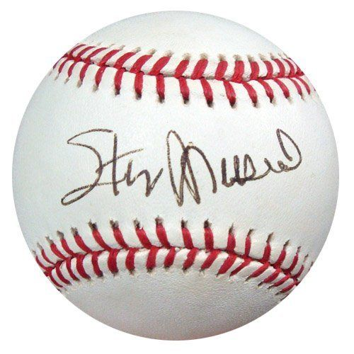 Stan Musial Autographed Nl Baseball Psa Dna S42417 89 00 This Is An Official National League Baseball That Baseball Signs Mlb Baseball Sports Collectibles