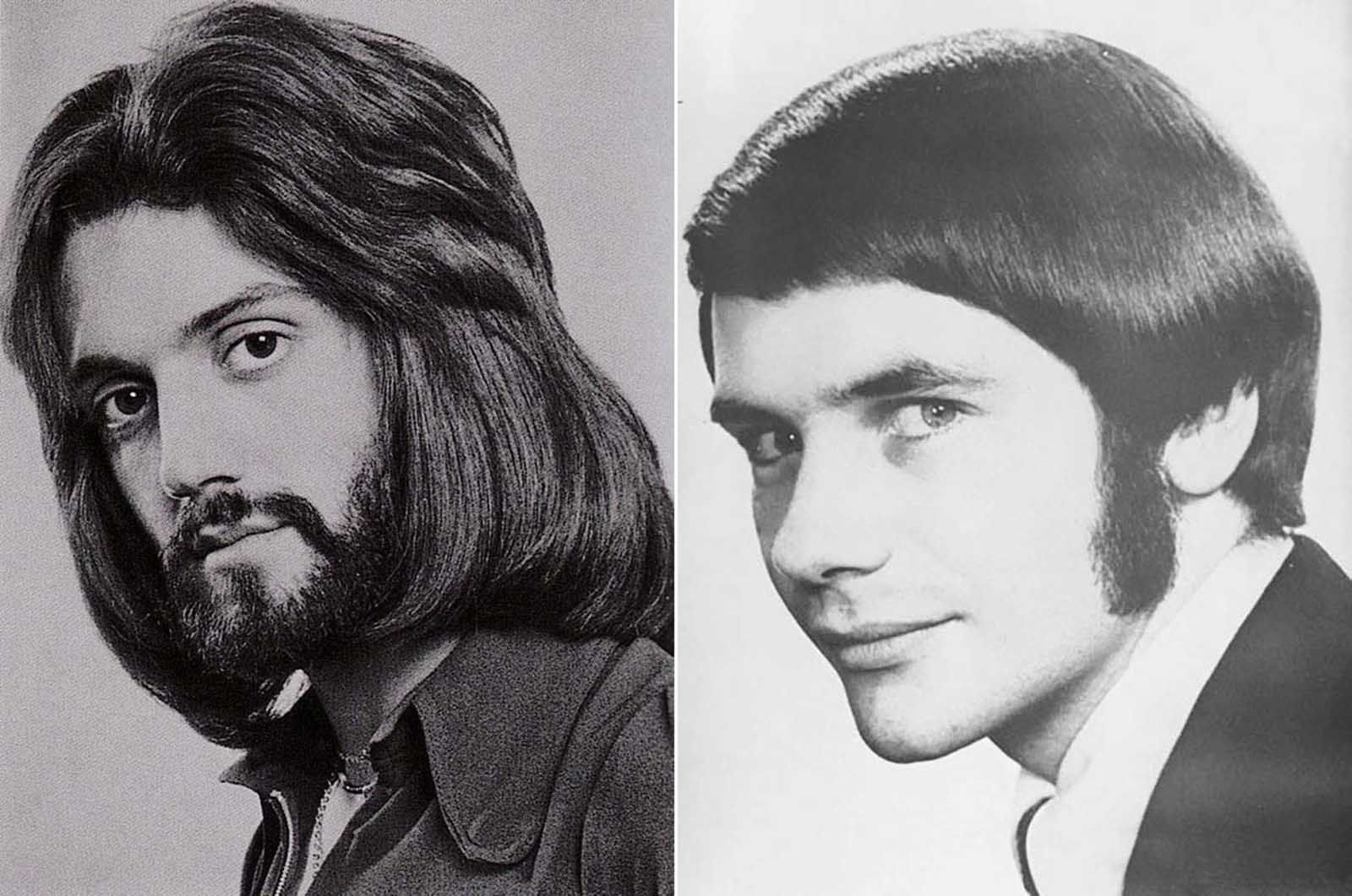romantic men's hairstyle from the 1960s–1970s | culture and