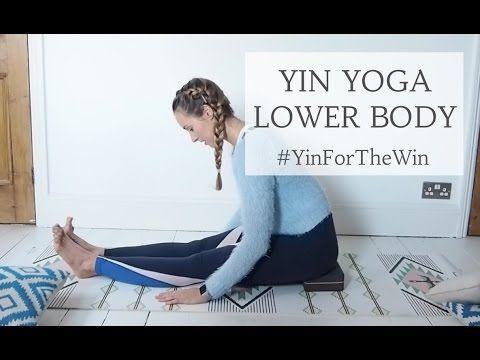 35 min yin yoga tutorial  lower body  cat meffan yin