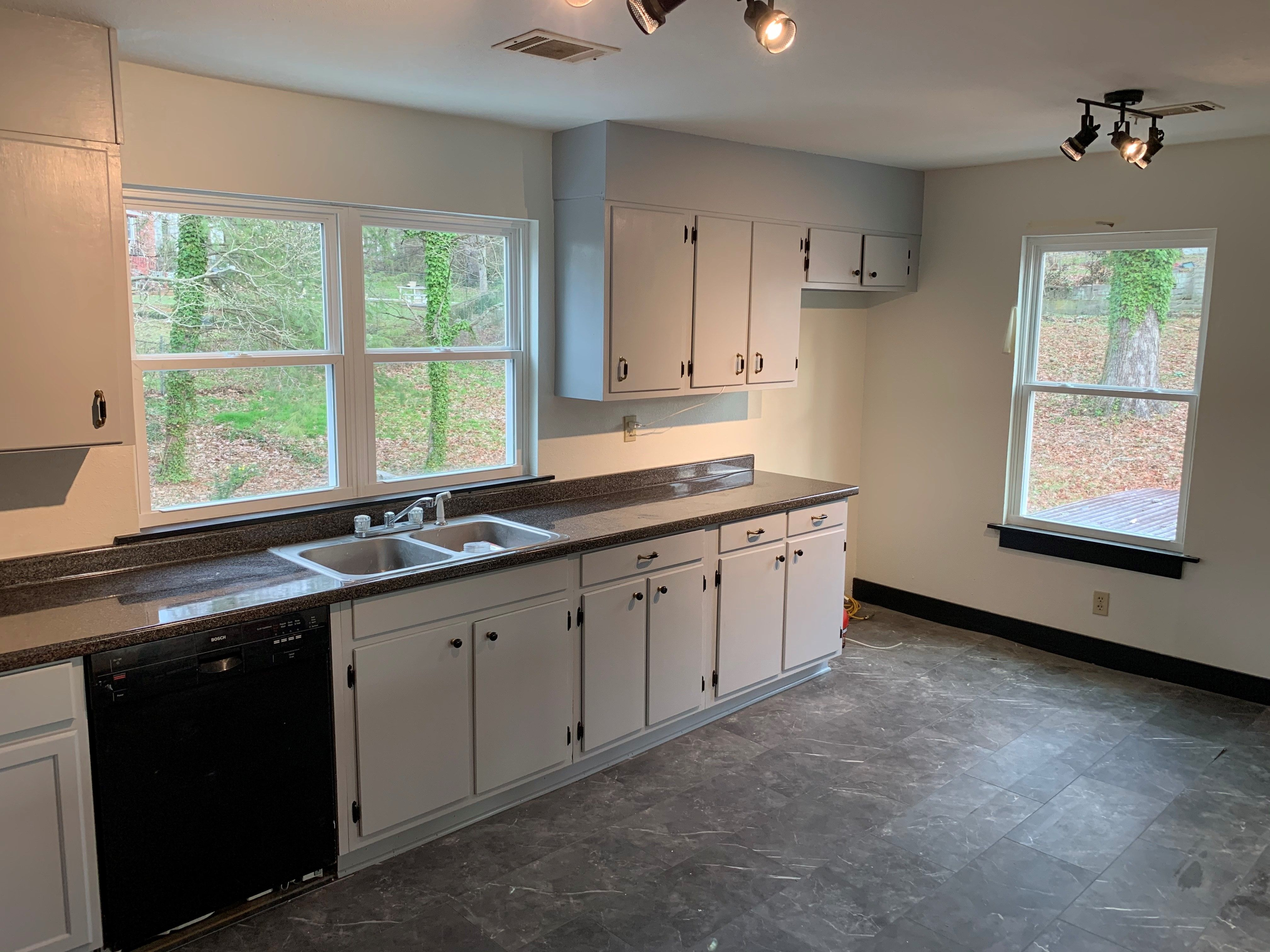 We Love Seeing Your Before And After Photos Check Out These Photos From Buildforza And Amy Poland Ta In 2020 Waterproof Flooring Durable Flooring Kitchen Cabinets