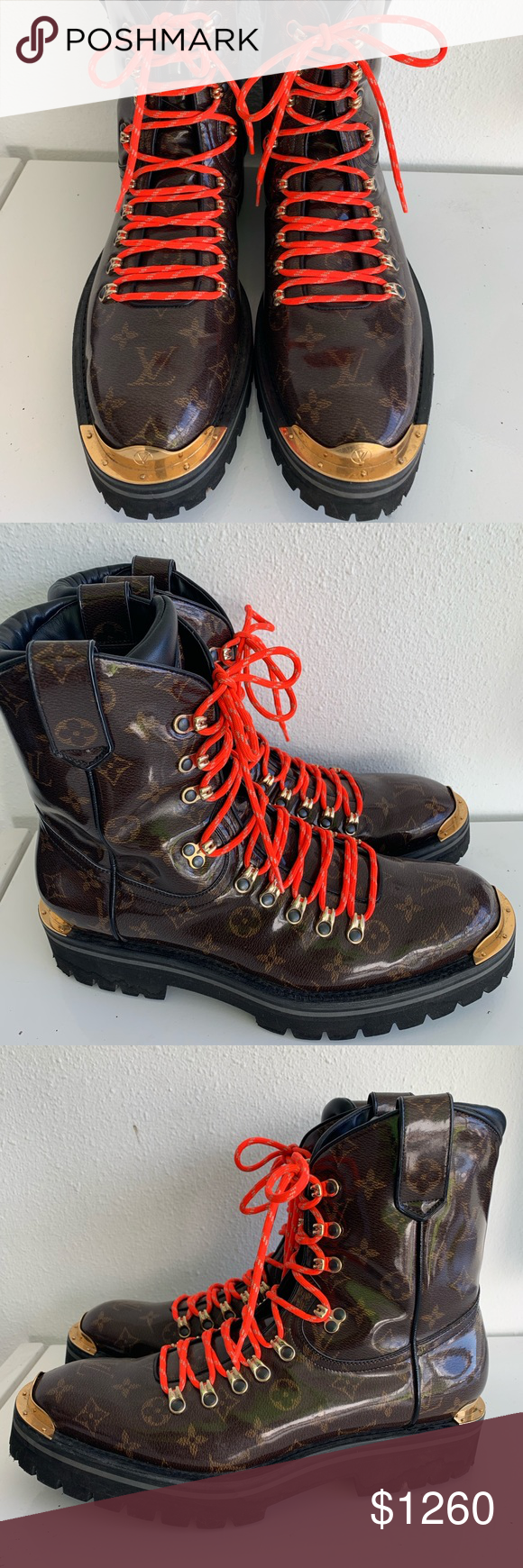 f8326e50ddeb Authentic Louis Vuitton Outland Ankle Boot Size 43 Retail   2200.00 After  taxes The LV Outland