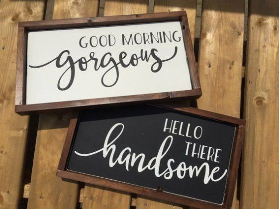 Handmade Wood Signs- 14 Amazing Signs You Can Buy On Etsy #rustichomedecor