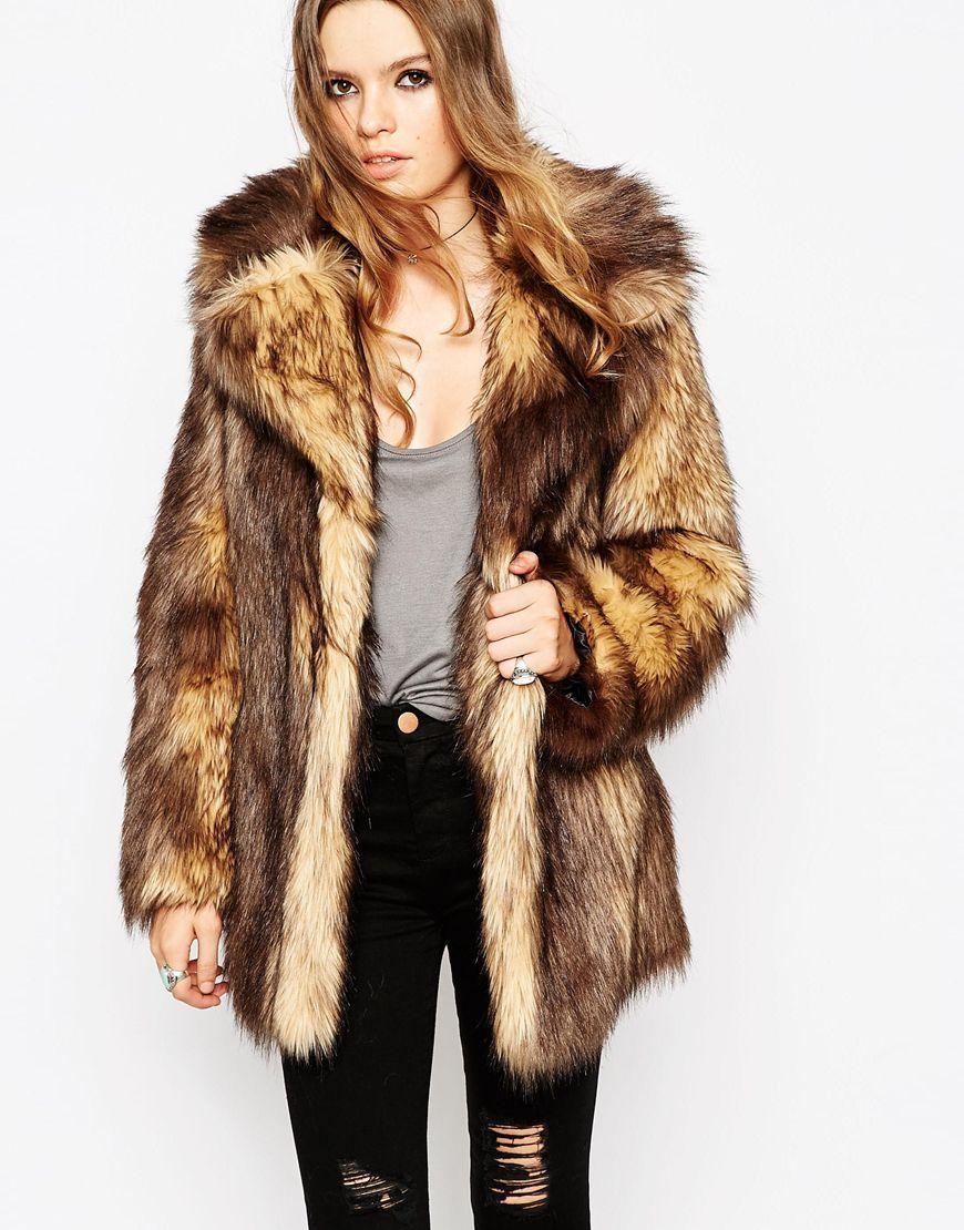 3696534094a ASOS+Vintage+Faux+Fur+Coat
