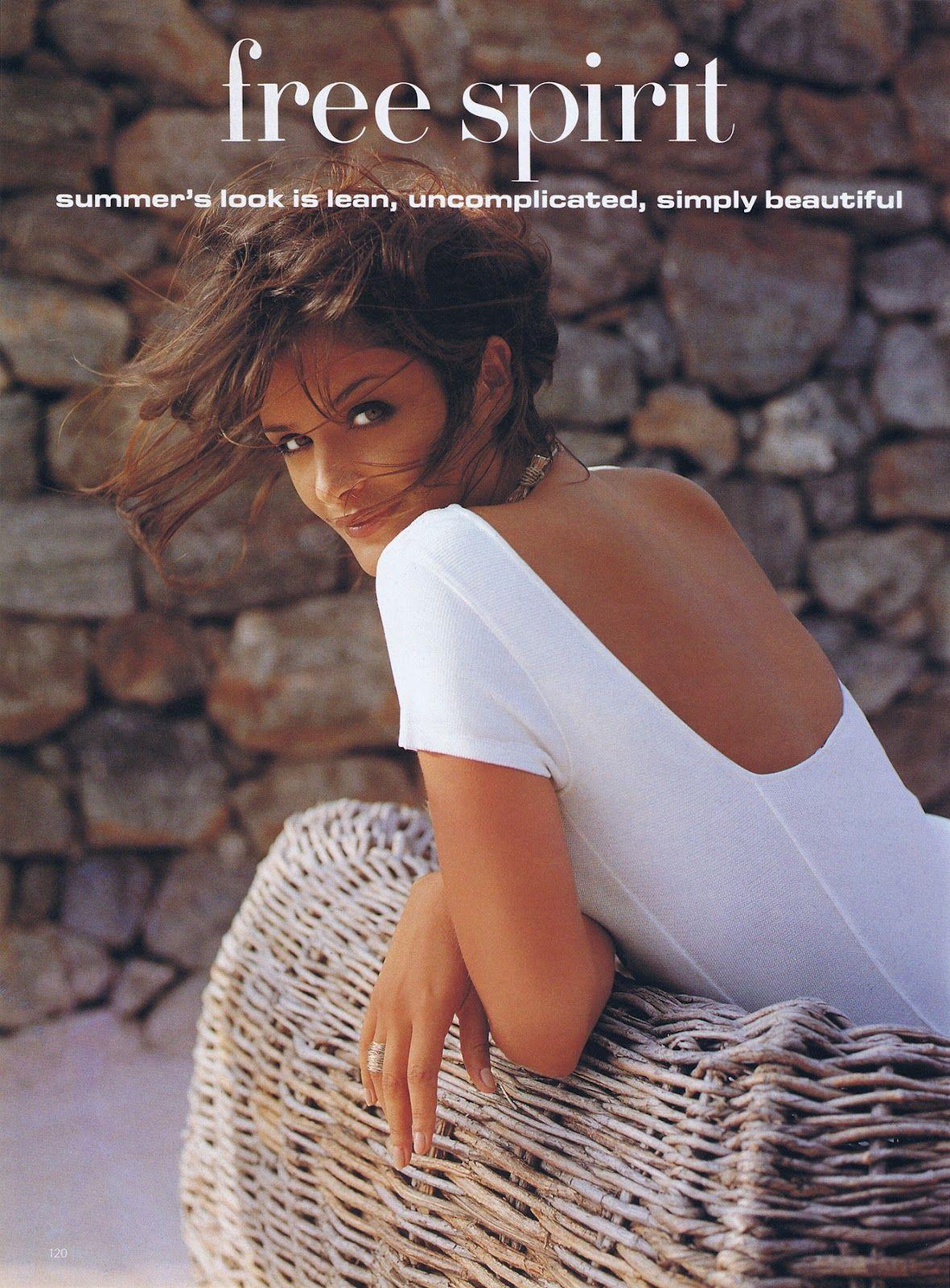 Helena Christensen by Fabrizio Ferri UK Vogue Aug. 1992