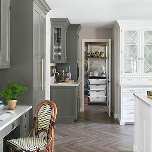 Best House Beautiful Kitchens Benjamin Moore Silouette 400 x 300