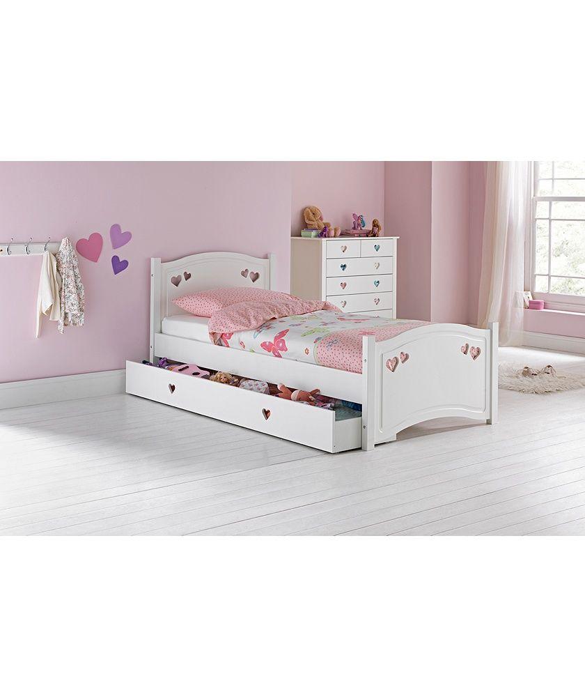 quality design 627ca 73e99 Home Mia White Single Bed Frame | room in 2019 | White ...