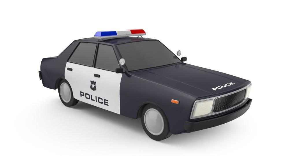 3d Model Cartoon Police Station Car Games Turbosquid 1382519 Police Station Car Games Police