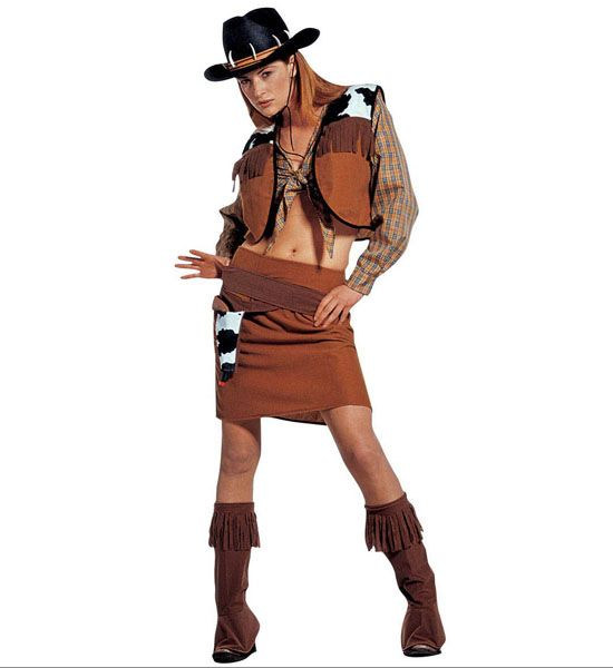 Cowboy Indians Costumes, Cowgirl Outfits