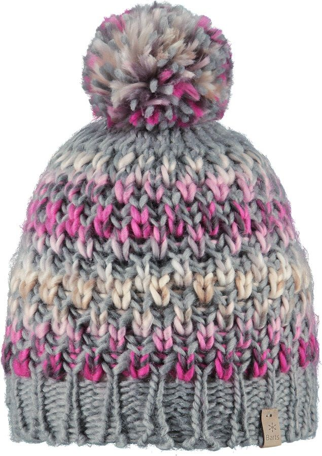 Barts Women\'s Nicole Ski/Snowboard Beanie Bobble Hat, Heather Grey ...