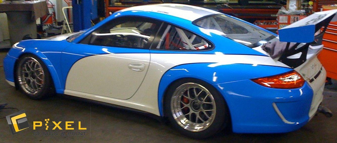 Porsche 911 Turbo Custom Full Body Wrap
