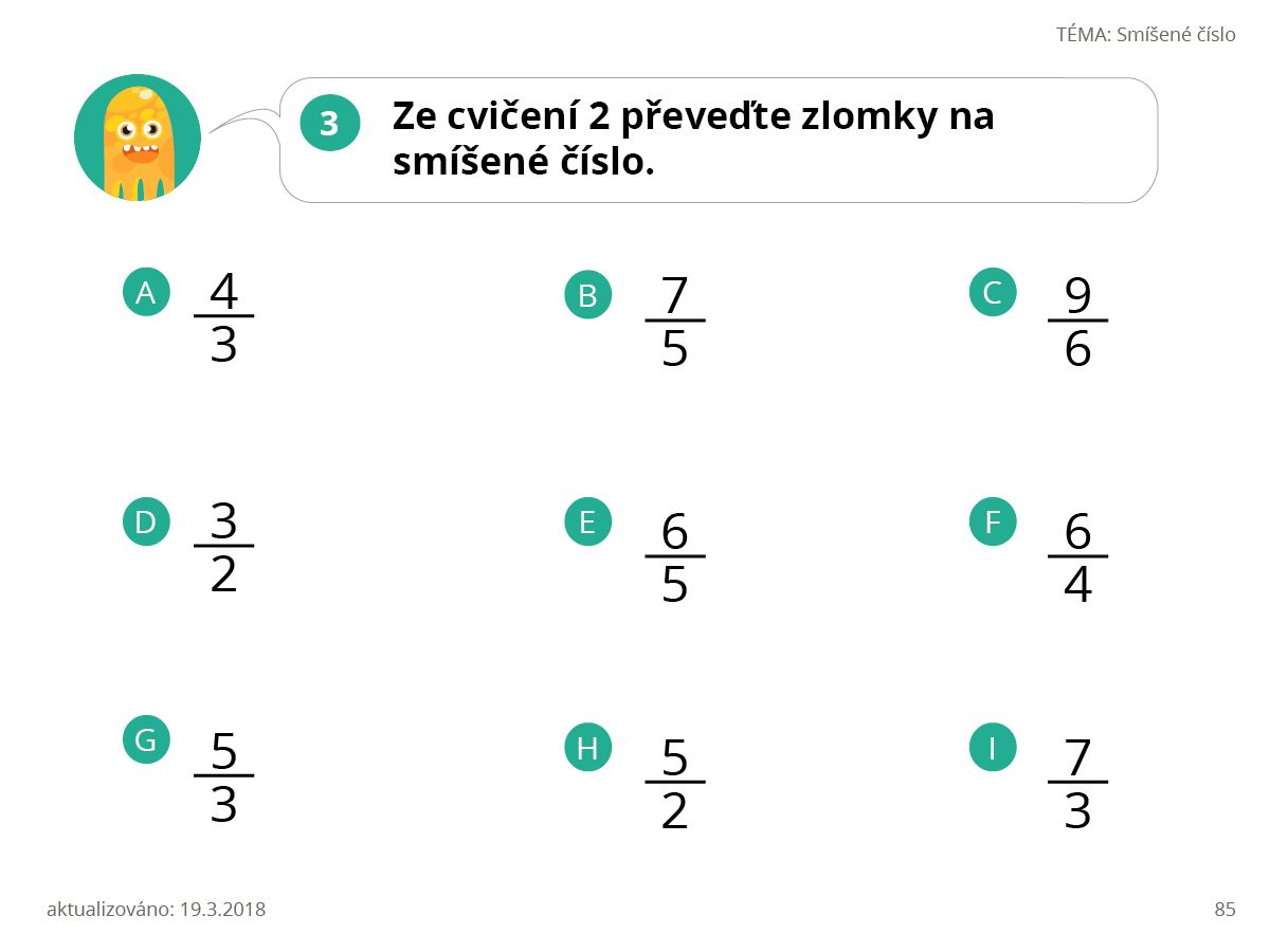 Prezentace Matematika 5 P Iklady Na P Evod Zlomk Na