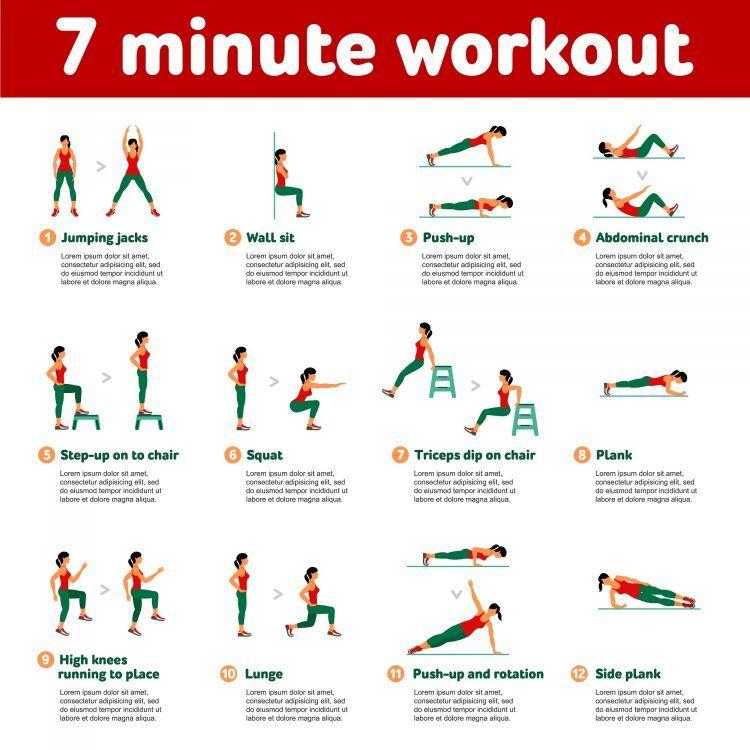 7-Minuten-Workout: In Rekordzeit zu maximaler Fitness? - 7..