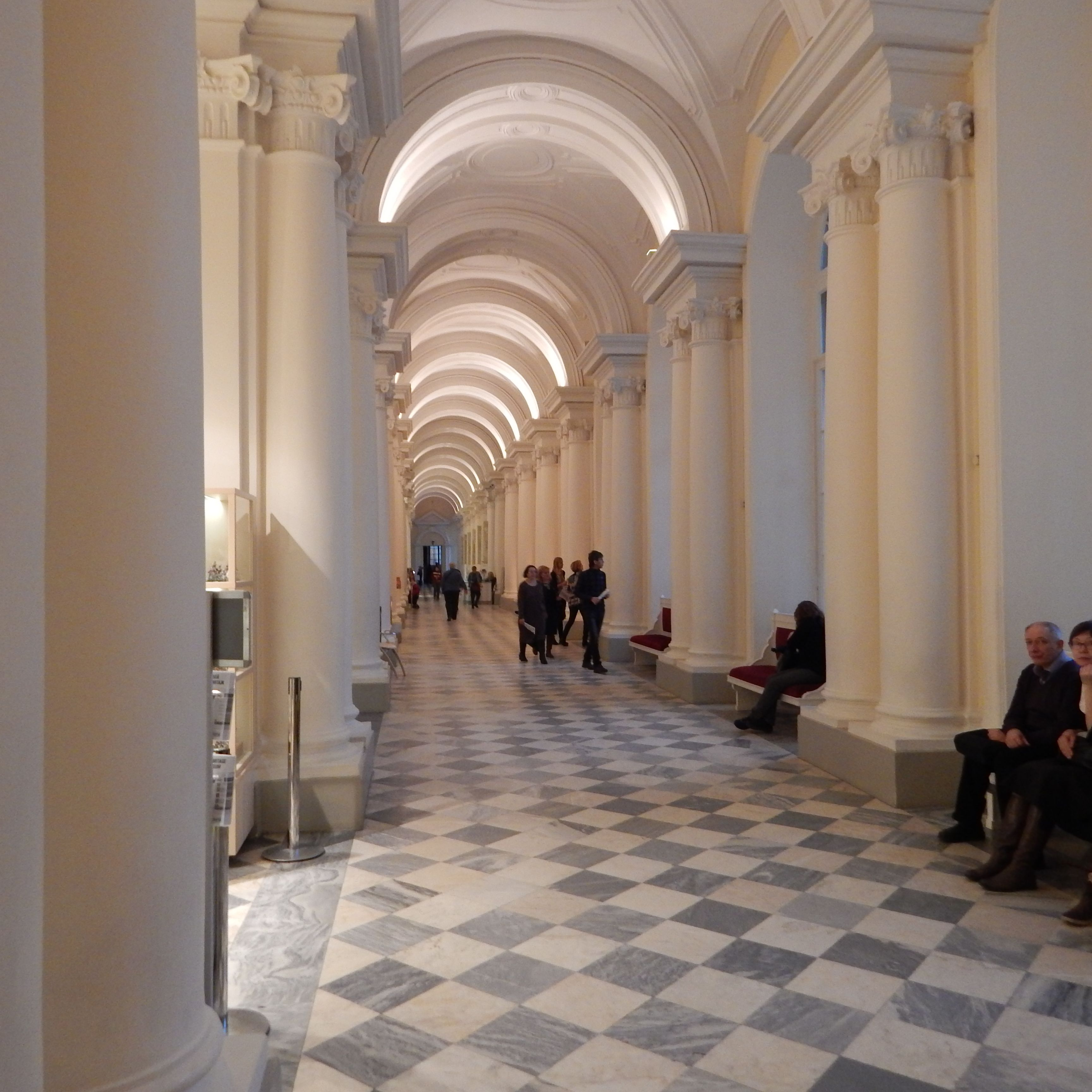 Hermitage im Zentrum Sankt Petersburgs