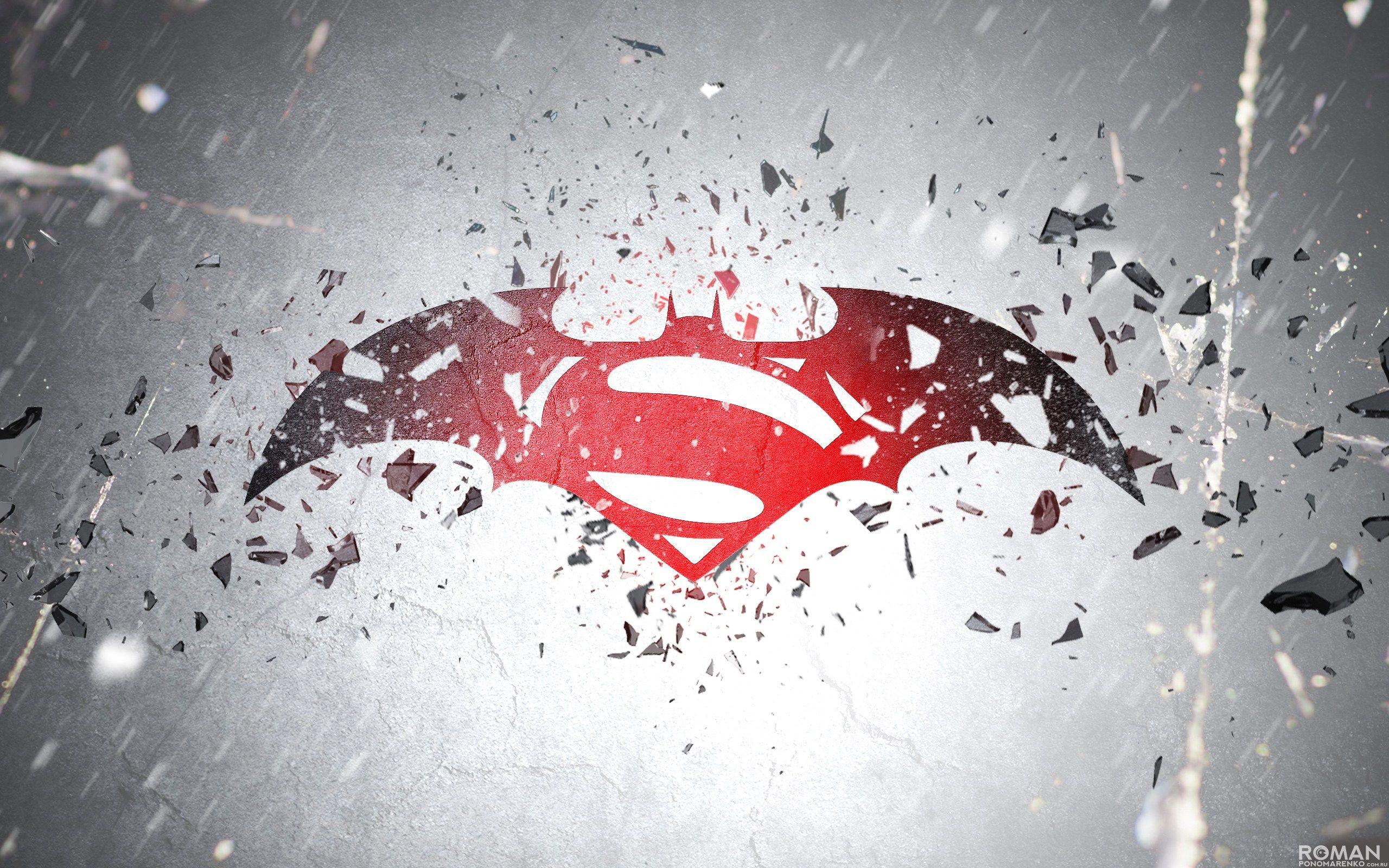Epic Batman V Superman Fan Trailer Combines All The Trailers In Chronological Order Superman Hd Wallpaper Superman Wallpaper Batman Vs Superman Logo