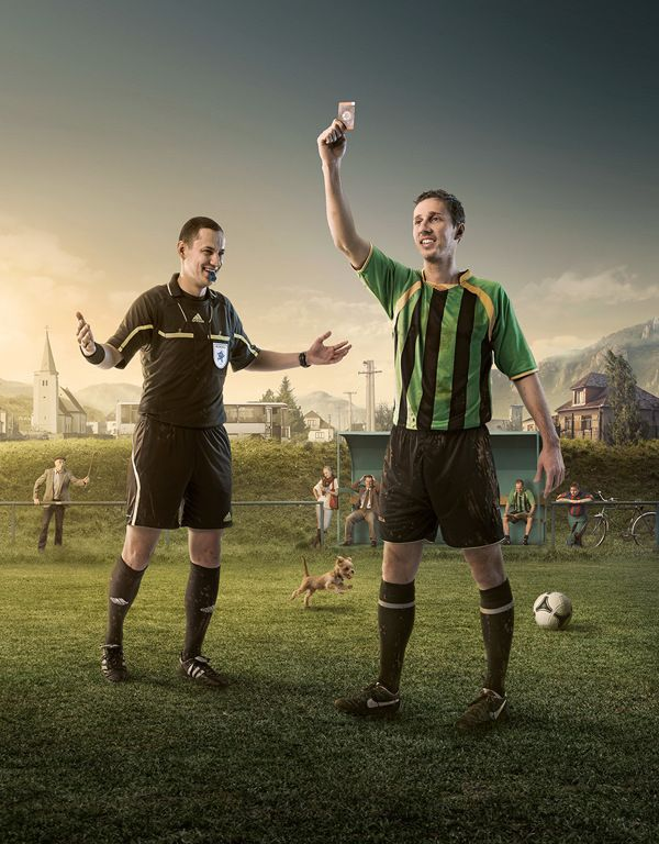 Show Your Card By Radoxist Studio Via Behance Sports Design Inspiration Photo Manipulation Photography Challenge